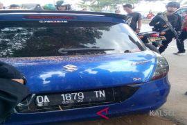 IRT tewas di dalam mobil