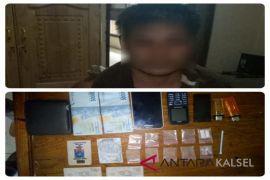 Polisi bekuk penjual sabu di Lampihong