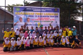73 atlet tenis lapangan ikuti kejuaraan di Tapin