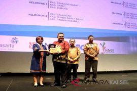 Kabupaten Balangan terima penghargaan indeks kelola 2018