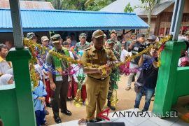 Pj Sekda HSS resmikan sasaran fisik TMMD Masjid Nurul Ikhsan