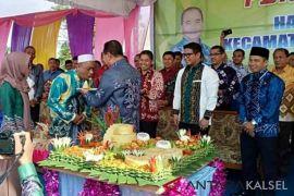 Puskesmas Telaga Langsat lebih megah dari kantor kecamatan