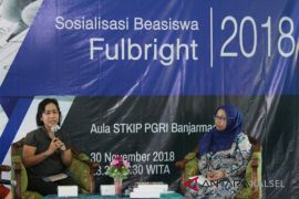 Program beasiswa Fulbright sosialisasi di STKIP-PGRI Banjarmasin