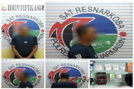 Pekerja swasta diringkus Satuan Narkoba simpan sabu dan ekstasi dalam rumah