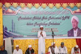 Bupati-Wabup hadiri Maulid di Masjid Agung Syuhada