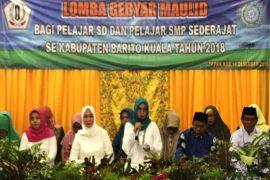 PKK Batola gelar Lomba Gebyar Maulid Pelajar