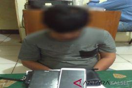 Residivis kasus pencurian tertangkap saat curi tas