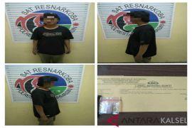 Polisi tangkap pengedar transaksi Narkoba depan sekolah