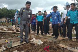 Sekda letakan batu pertama pembangunan perumahan Murakata Residence Barabai