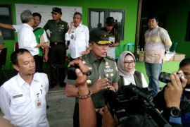 TNI-AD kembali tanam padi di lokasi HPS