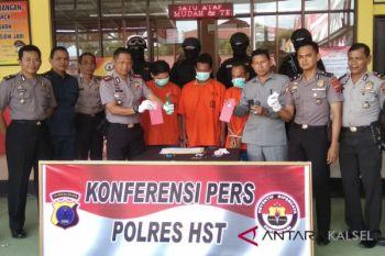 Polres tangkap tiga pelaku di Desa Paya