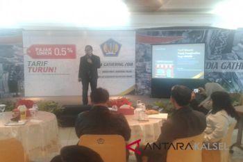 Direktorat Jendral Pajak Kalselteng gelar media gathering