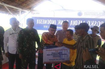 BI bantu dua kelompok tani Desa Jejangkit
