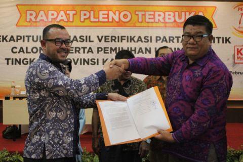 KPU Kalsel terima 24 pendaftar calon DPD