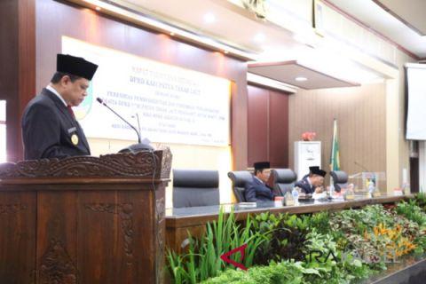Pjs Bupati Hadiri PAW Anggota DPRD Tala