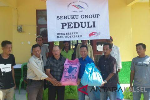 Group Sebuku bagikan sembako di lima desa