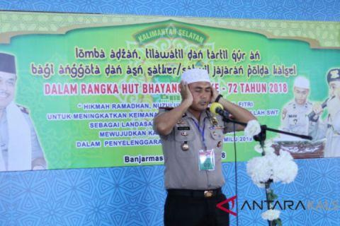 Lantunan ayat suci Al Quran bergema di Mako Ditpolairud
