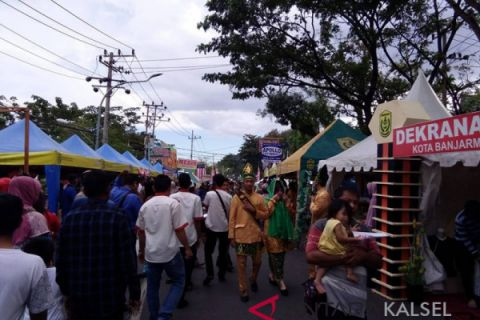 Pasar Wadai Ramadhan Banjarmasin