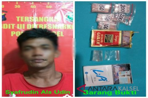 Ditresnarkoba temukan 30 paket narkotika siap edar