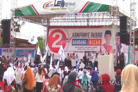 Kampanye Akbar Bambang-Nizar