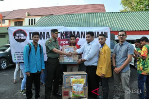 Korem kirim 2.056 koli bantuan korban gempa Lombok