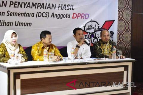 KPU Banjarbaru  tetapkan 375 bacaleg masuk DCS
