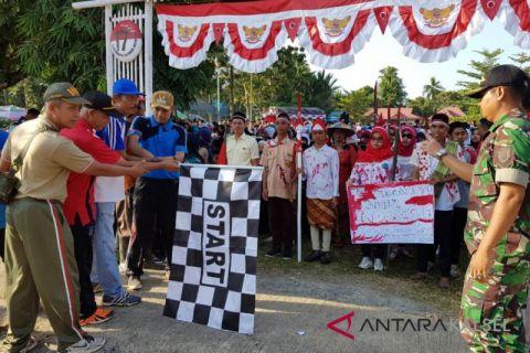 Video - PT SLS dan Pemerintah Kecamatan Kelumpang gelar pesta rakyat