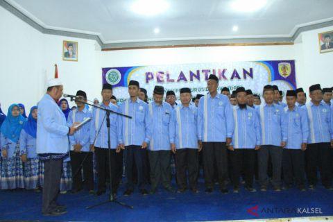 Pengurus BKPRMI HST resmi dilantik