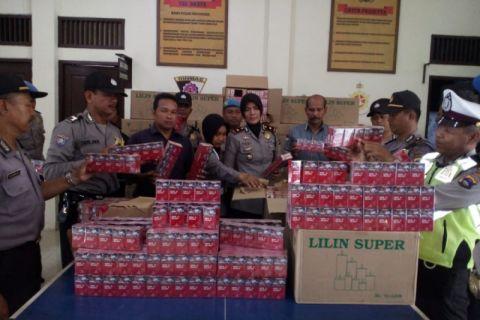 KPL police seize 93 boxes illegal cigarettes