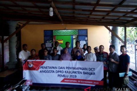 547 Caleg perebutkan 45 kursi  DPRD Banjar