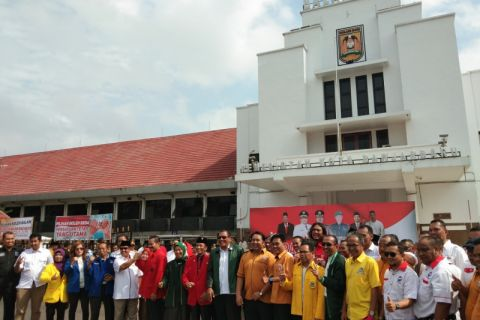 Parpol Banjarbaru dukung Pemilu Damai 2019