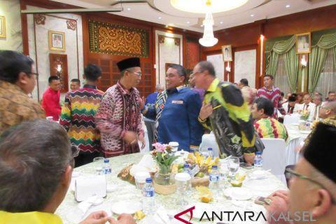 Wakil Walikota Hermansyah hadiri malam pengantar tugas Yudianto Putrajaya,