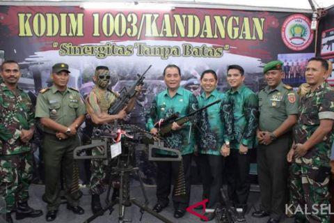 Dandim Kandangan : Pameran Alutsista ajang edukasi dan tumbuhkan kecintaan pada TNI