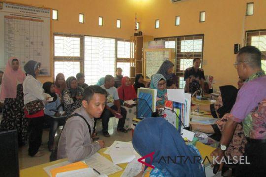 Pengurusan surat kependudukan di Banjarmasin membeludak