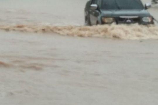Kapolres: Luapan air tidak pengaruhi lalu lintas
