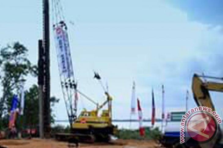 Pembangunan jembatan Kotabaru Kalsel tetap berlanjut