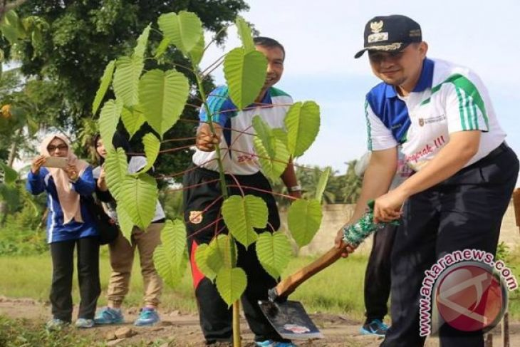 20 ambassadors scheduled to adopt South Kalimantan tree