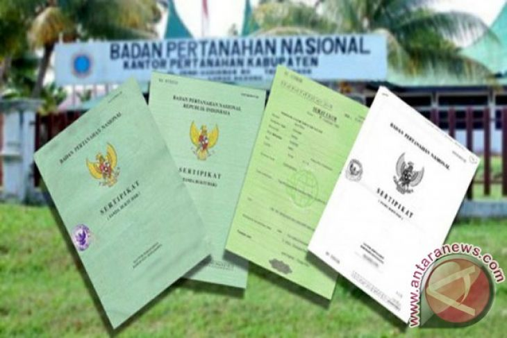 BPN Target 6500 sertifikat tanah gratis