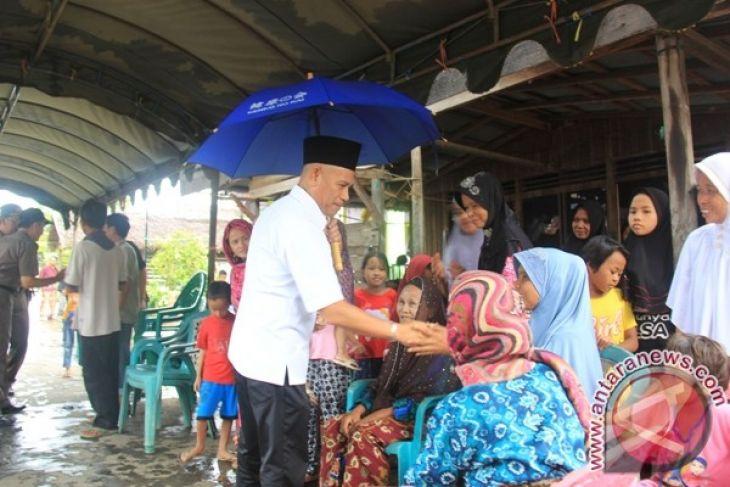 Dinas Ketahanan Pangan bantu beras korban kebakaran