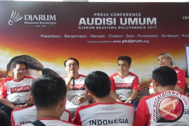 Audisi Djarum Beasiswa Bulutangkis 2017 Sasar Cirebon-Sola
