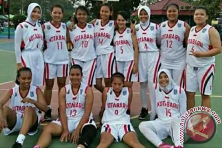 Prestasi Bola Basket Kotabaru Turun Porprov Tabalong