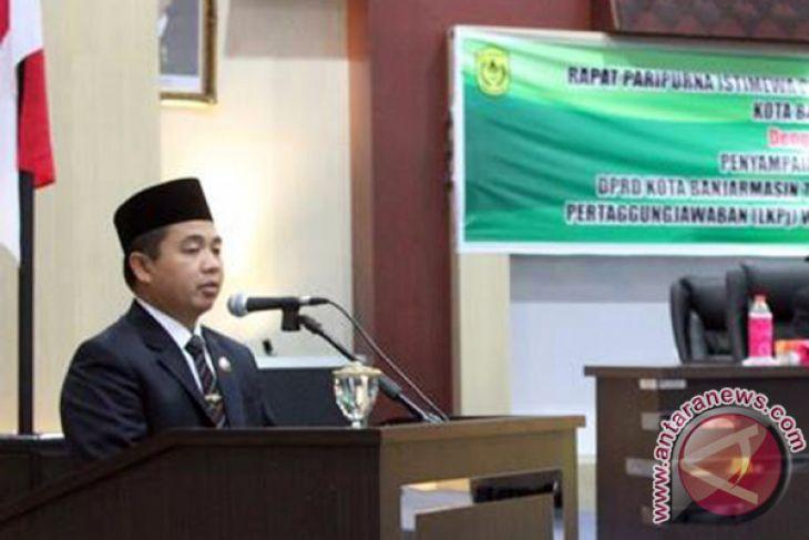 PAD Banjarmasin 2018 Hanya Naik 1,63 Persen