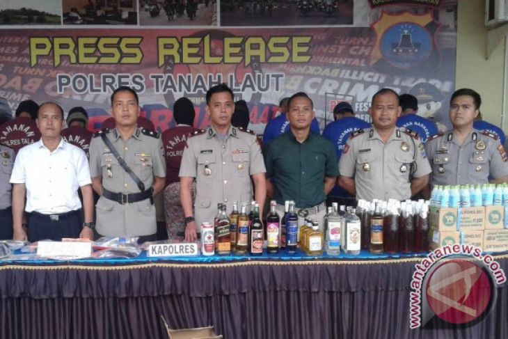 Sikat Intan Operation Unveils 144 Criminal Cases in Tanah Laut