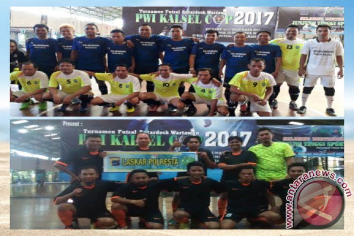 15 Tim Ramaikan Turnamen Futsal Antardesk Wartawan
