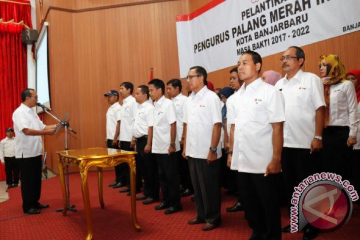 Pelantikan Ketua dan Pengurus PMI Banjarbaru