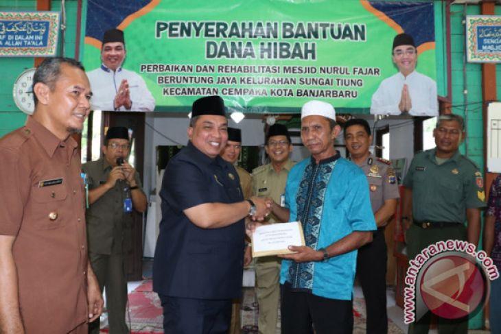 Hibah untuk Masjid Nurul Fajar
