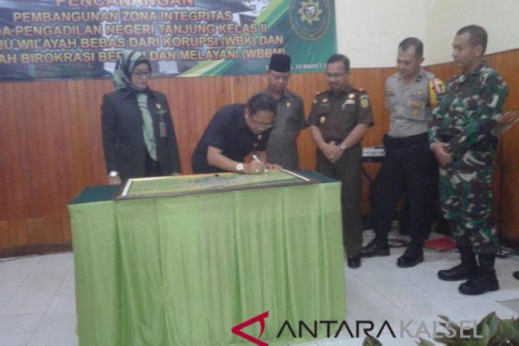 Pengadilan Negeri  Tanjung  raih akreditasi A