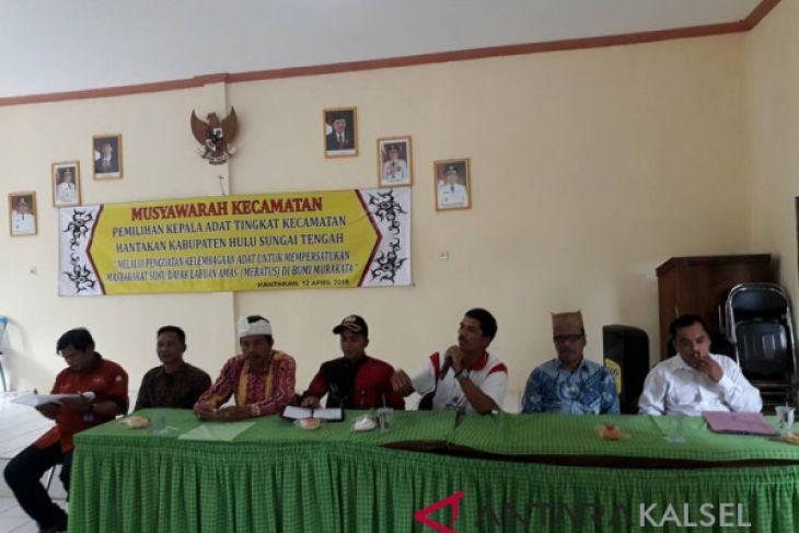 31 Balai Ikuti Pemilihan kepala adat Se-Kecamatan Hantakan