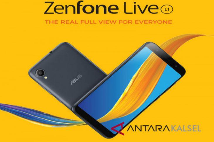 ASUS Gandeng JD.ID Pasarkan ZenFone Live L1