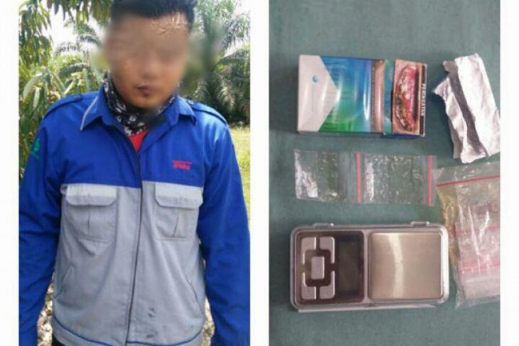 Polres Tabalong tangkap pekerja PLTU miliki sabu-sabu